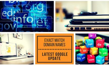 Exact Match Domain Name Google SEO