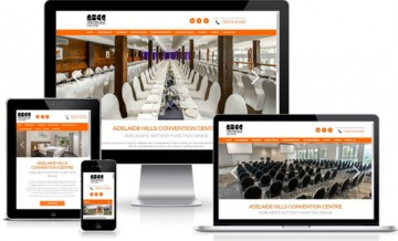 Responsive web design adelaide hills convention