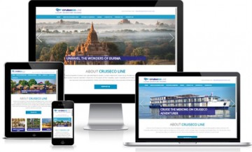 CruiseCo Responsive Website Design