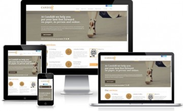 Candid8 Marketing - Responsive Web Design