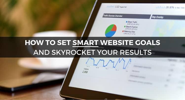 How to set SMART website goals