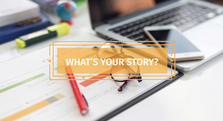 Engaging storytelling content marketing