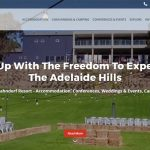 Hahndorf Resort Web Design Homepage Top