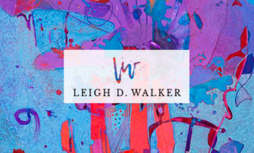 Leigh D Walker Artist E-Commerce Web Design Example