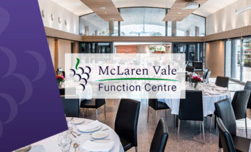 McLaren Vale Function Centre Web Design Example