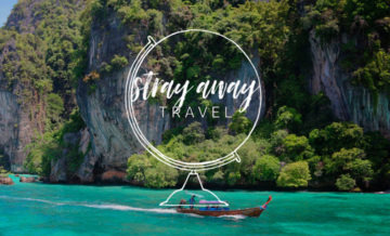 Stray Away Travel Web Design